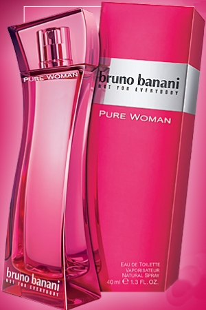 Bruno Banani Pure Woman Eau de Toilette EDT 60 ml