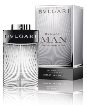 Bvlgari Man The Silver Limited Edition Eau de Toilette EDT 100 ml