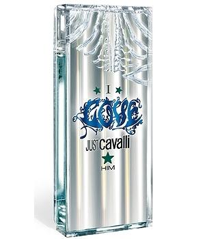 Roberto Cavalli I Love Just Him Eau De Toilette EDT 60 ml