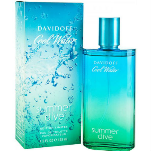 Davidoff Cool Water Summer Dive Eau de Toilette EDT 125 ml