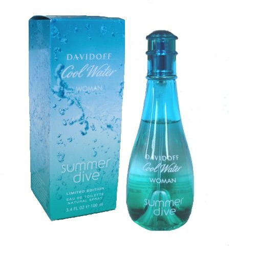 Davidoff Cool Water Summer Dive Woman Eau de Toilette EDT 100 ml