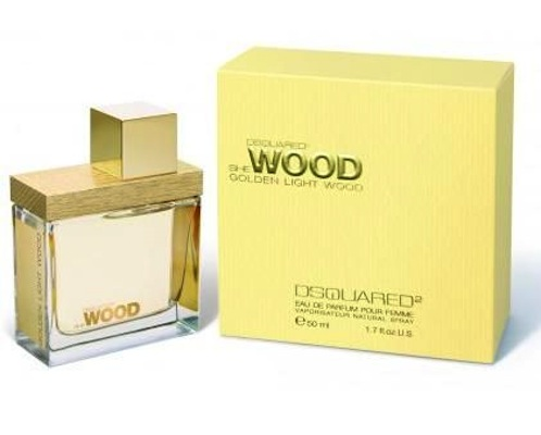Dsquared She Wood Golden Light Wood Eau de Parfum EDP 30 ml